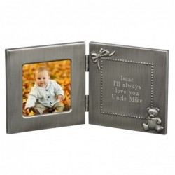 HINGED BABY FRAME & ENGRAVING
