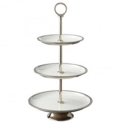 3 Tier Enameled Stand, 7,...
