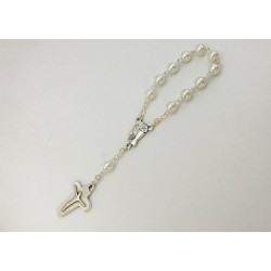 Finger Rosary With   Pearl...