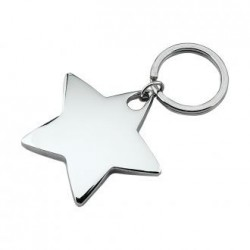 Star Shaped Key Chain