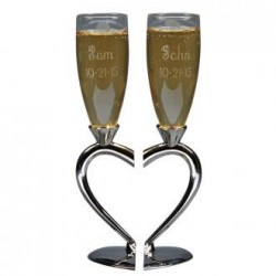 Toasting Goblets With Heart...