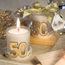 Golden Anniversary Candle...