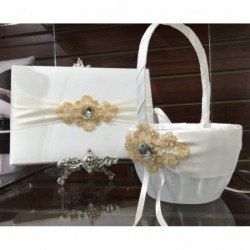 Elizabeth Guest Book Ivory...