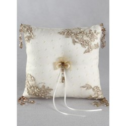 Bella Donna Ring Pillow Ivory