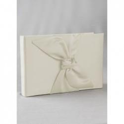 Love Knot Guest Book-Ivory