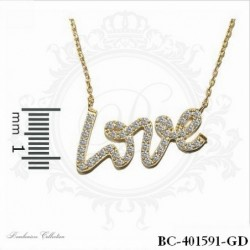 Gold Necklace | Cubic Zirconia