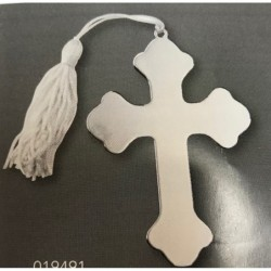 Cross with white Tassel