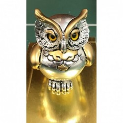 Large Silver Owl