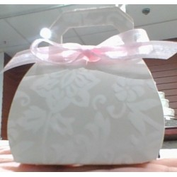 Damask Purse Favor Box