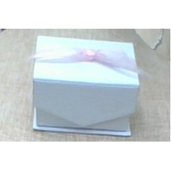 White Mini Favor Box