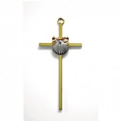 Baptism Cross With Shell...
