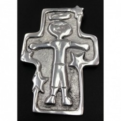 Boy Pewter Cross