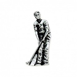 Peel & Press Golfer Icon,...