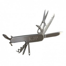 FOLDING 9-TOOL POCKET KNIFE
