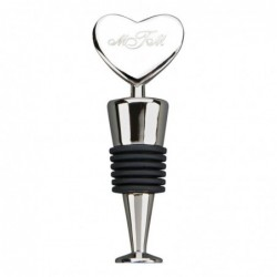 Heart Bottle Stopper 3.75 H...